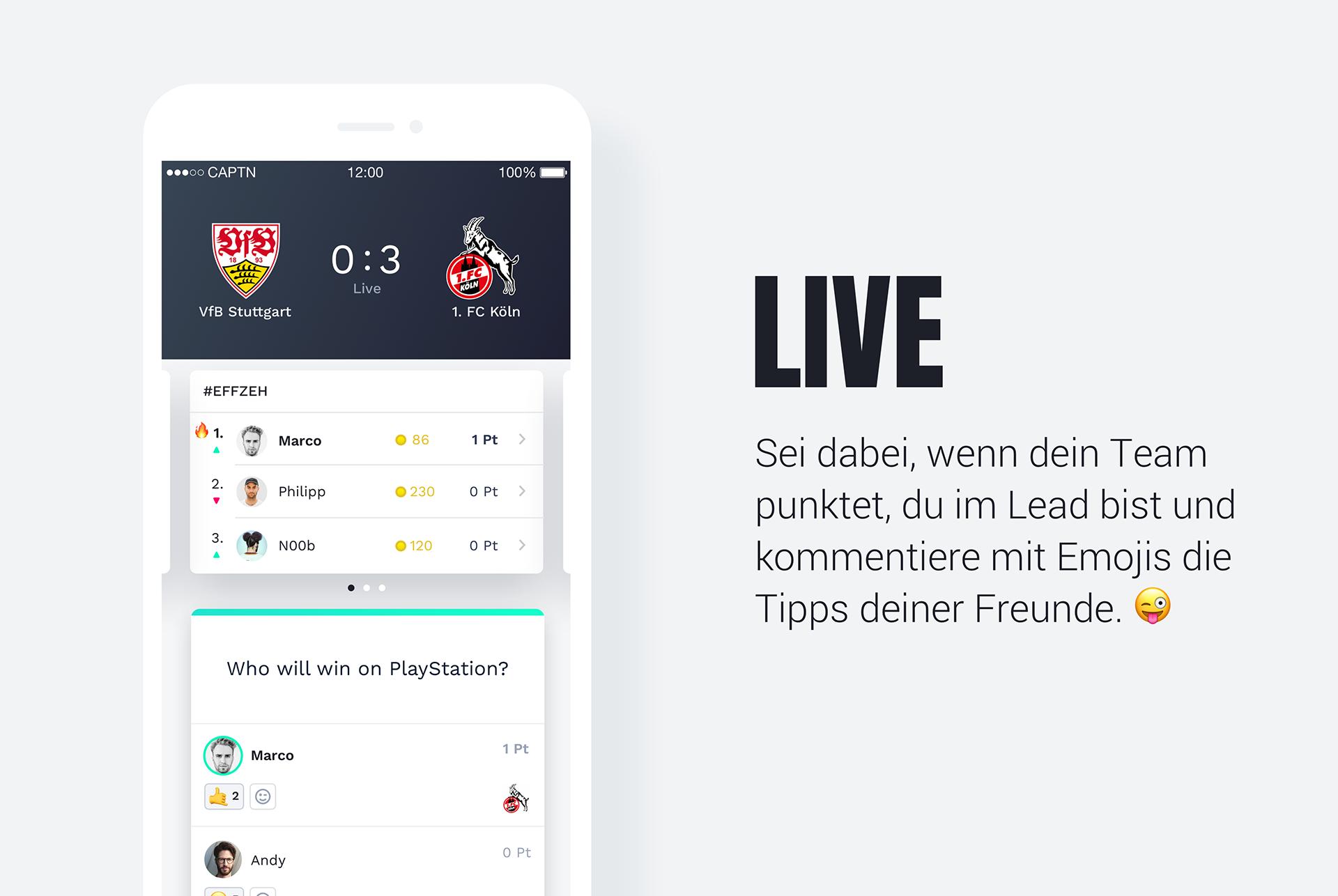 captn app esports live